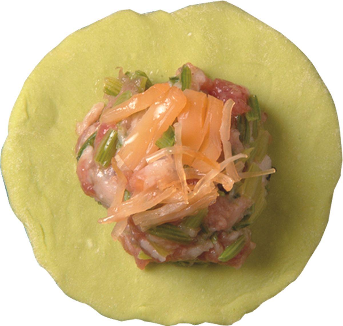 食譜:波菜水餃皮
