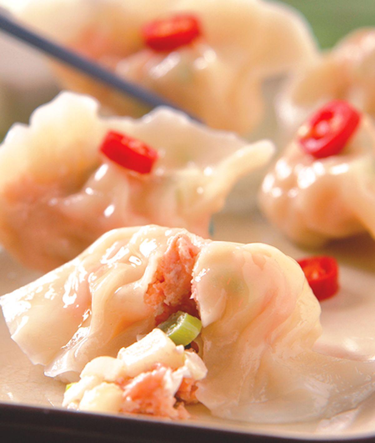 食譜:鮭魚水餃
