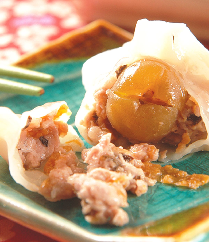 食譜:梅子水餃