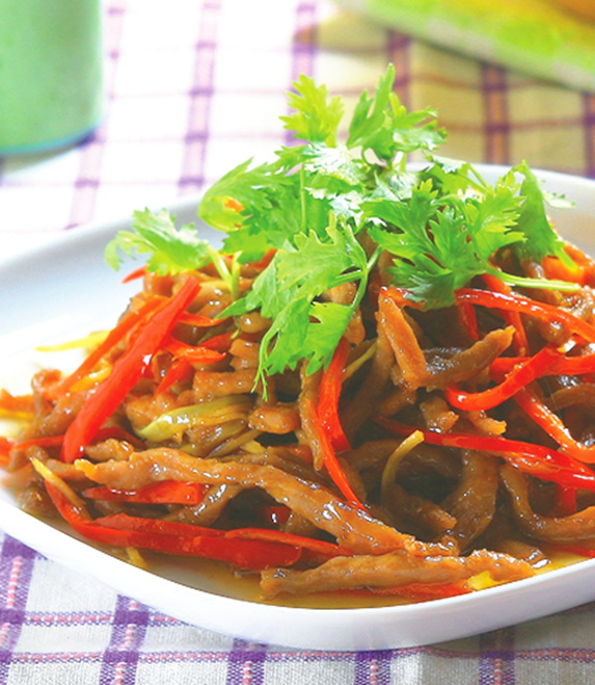 食譜:辣椒牛肉絲