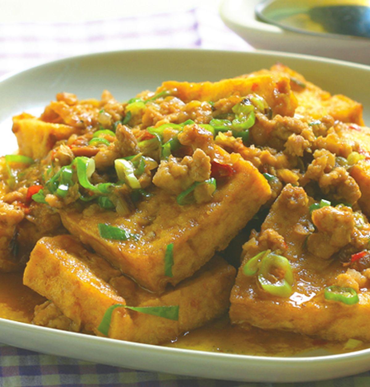 食譜:魚香豆腐