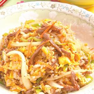 青椒牛肉炒飯(1)