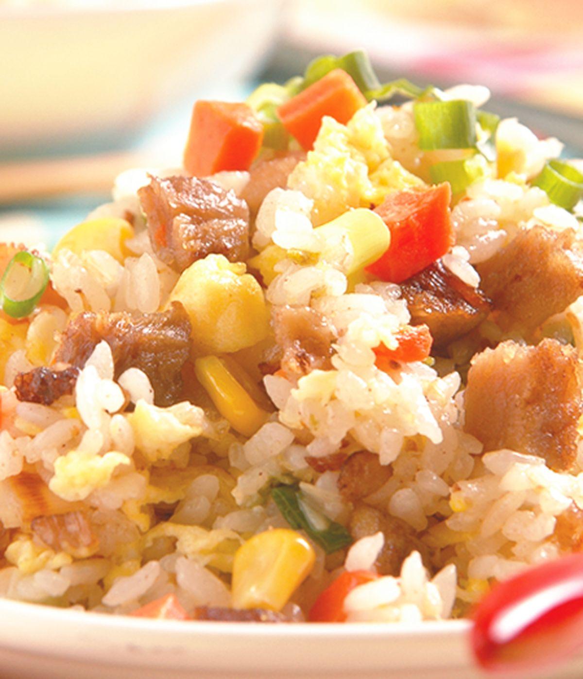 食譜:臘肉炒飯