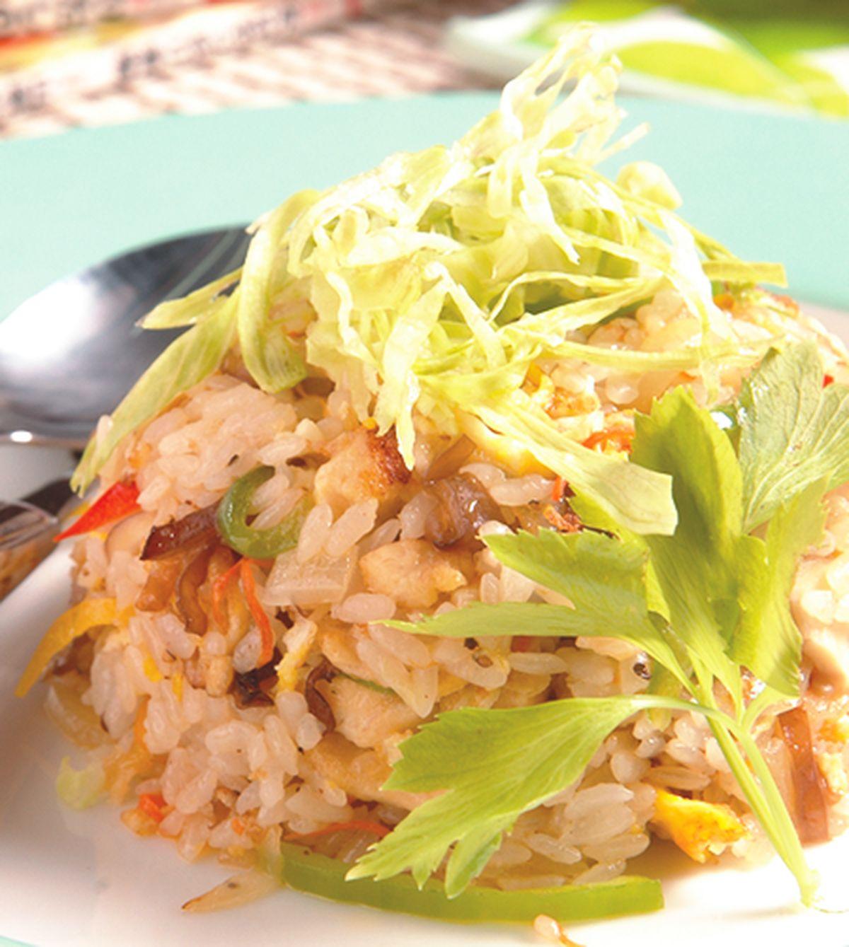 食譜:彩椒雞絲炒飯