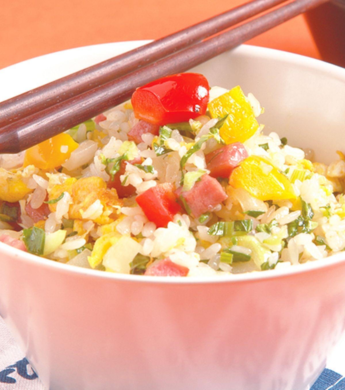 食譜:青蔬炒飯