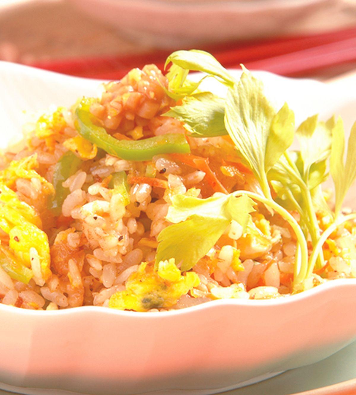 食譜:蝦醬炒飯(1)