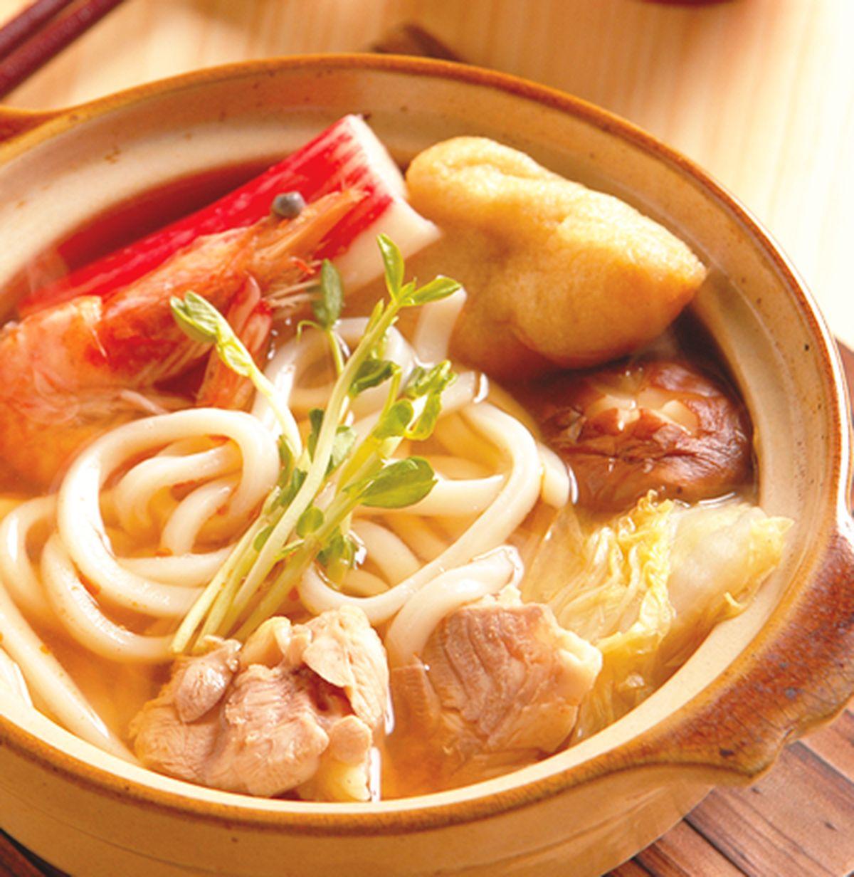 食譜:海鮮鍋燒烏龍麵