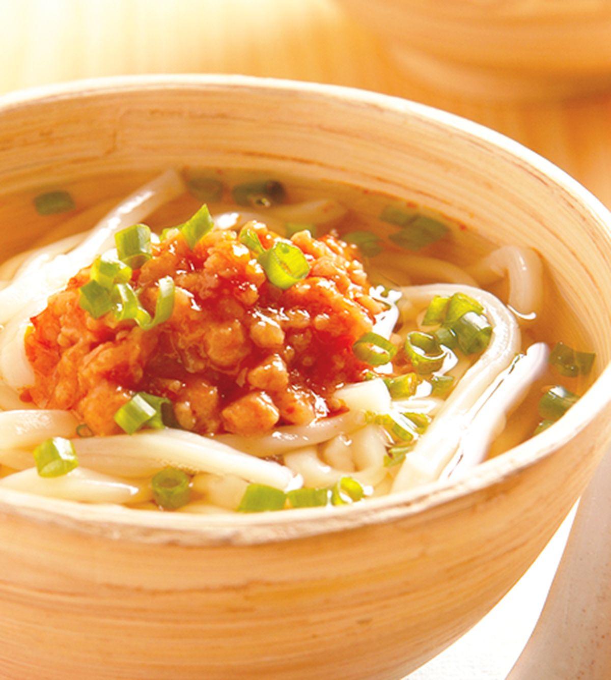 食譜:辛口味噌烏龍湯麵