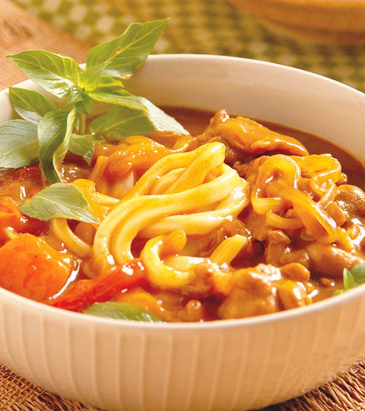食譜:咖哩烏龍麵(1)