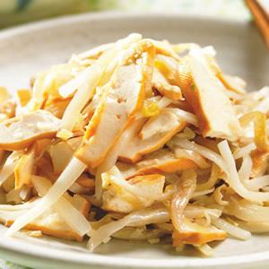 竹筍豆干絲