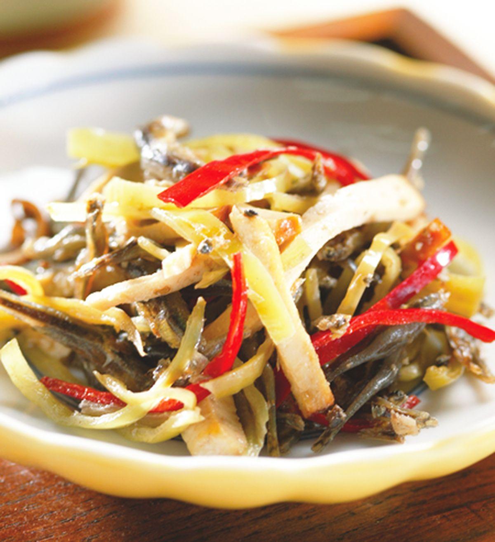 食譜:豆干炒小魚干