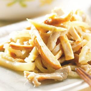 榨菜豆干炒肉絲