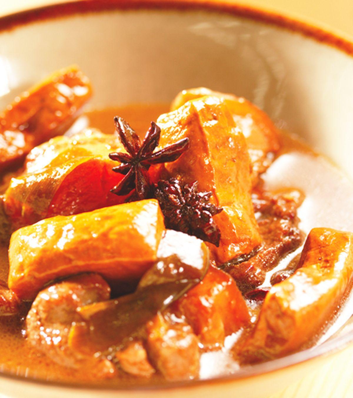 食譜:梅花肉燒豆干塊
