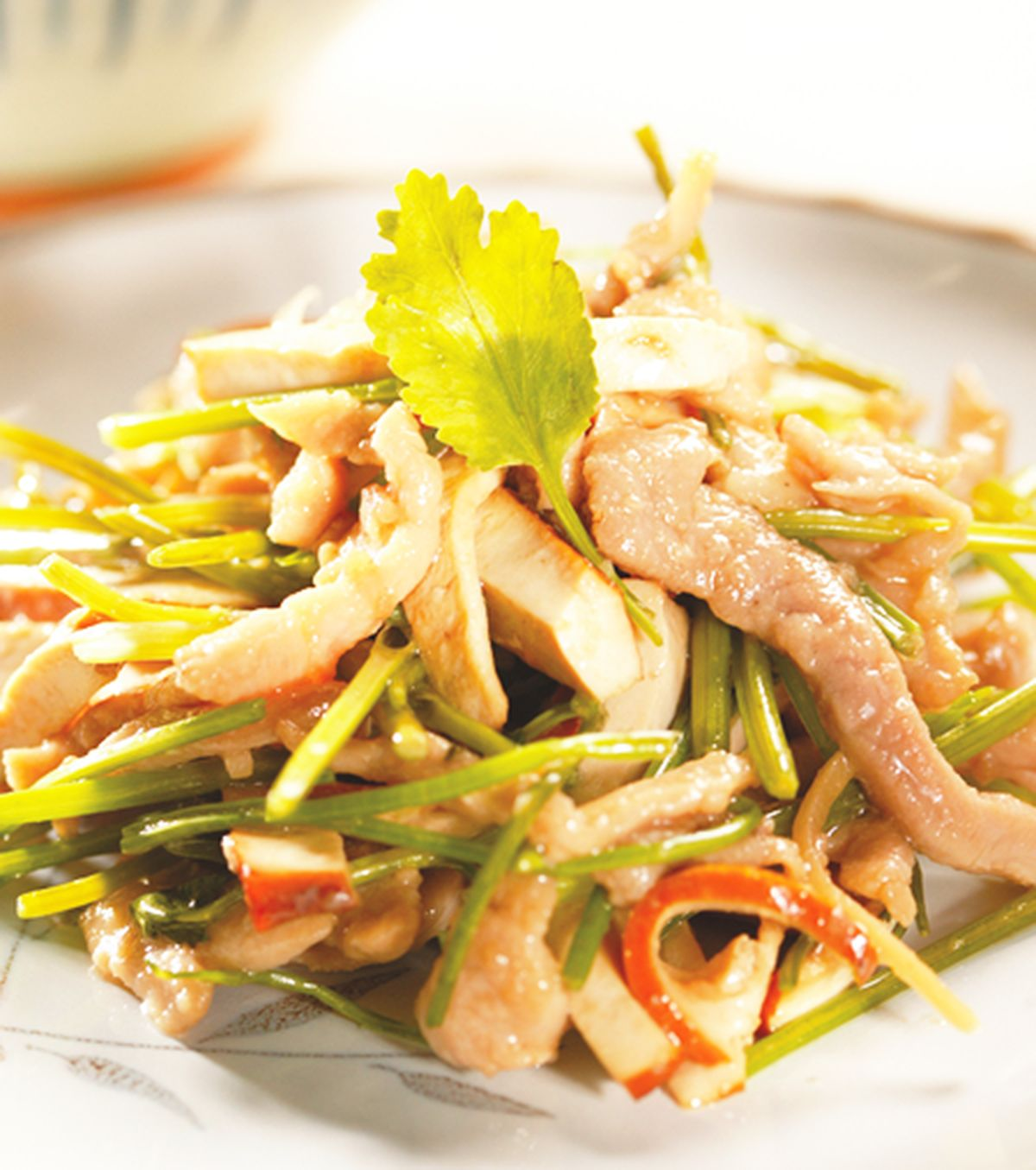 食譜:香根豆干絲
