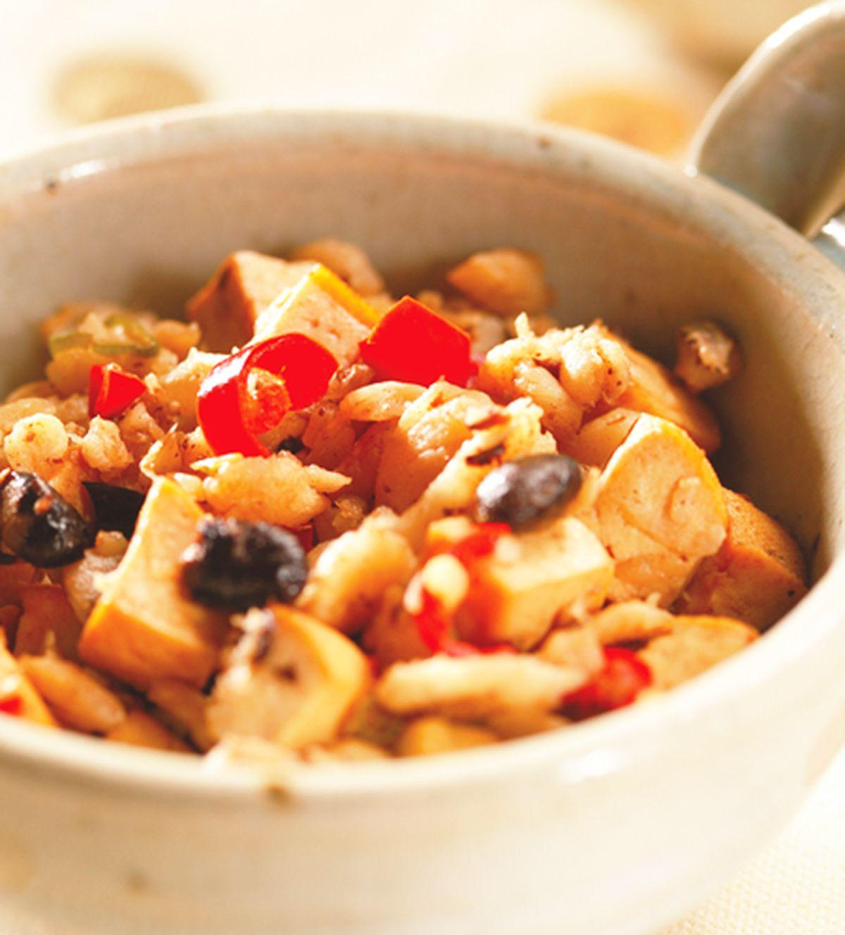 食譜:蘿蔔乾炒豆干