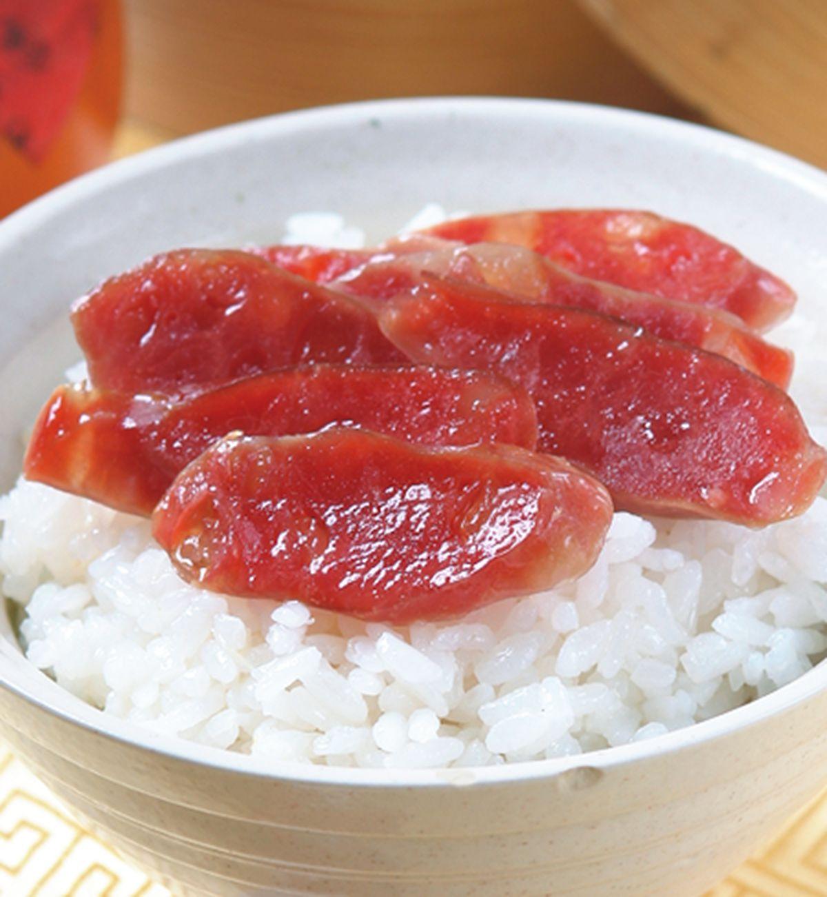 食譜:臘腸蒸飯
