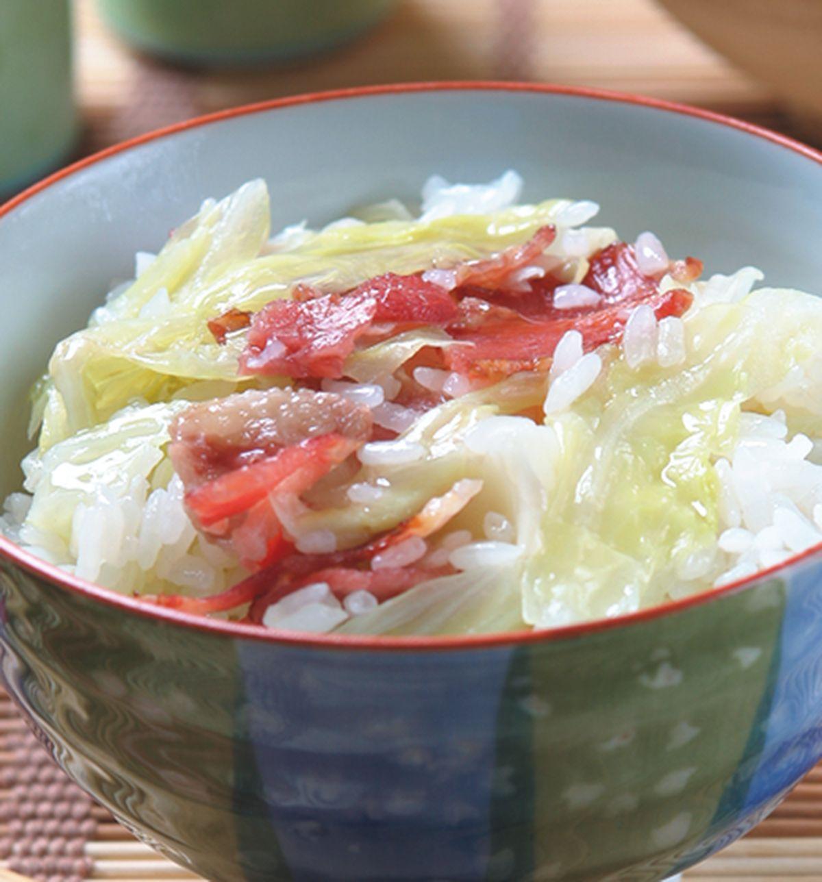 食譜:培根高麗菜飯
