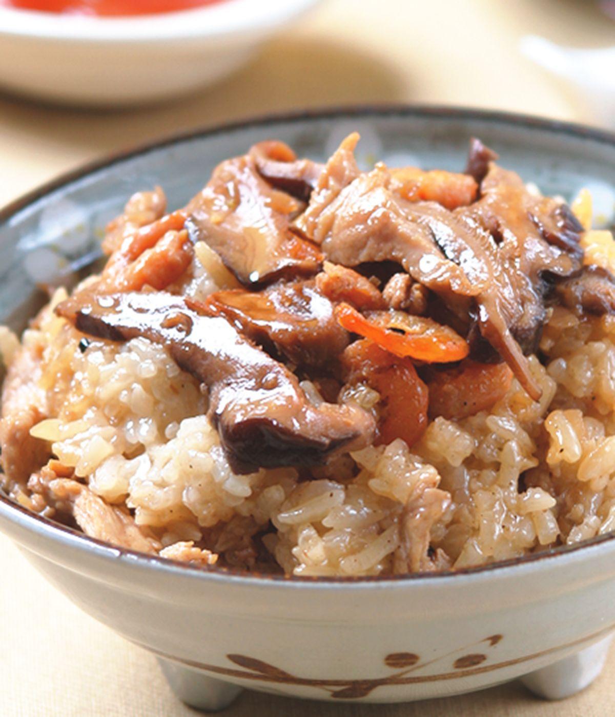 食譜:香菇油飯