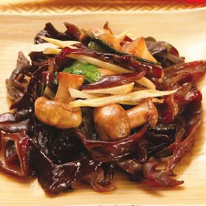 木耳炒洋菇