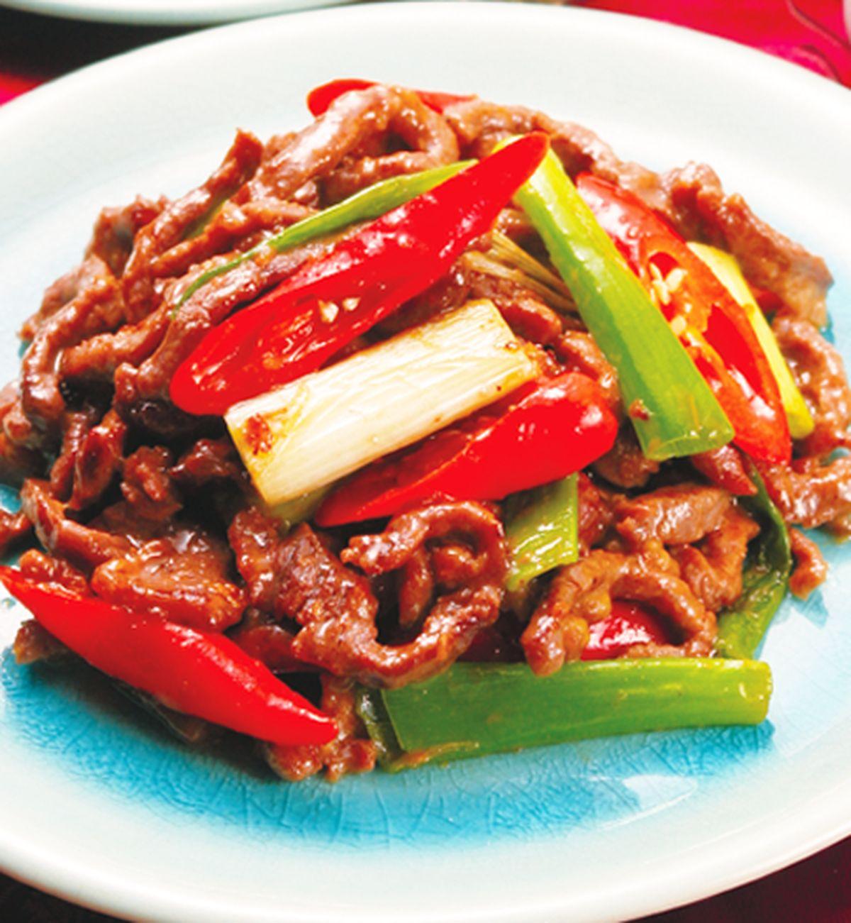 食譜:蔥爆牛肉(4)