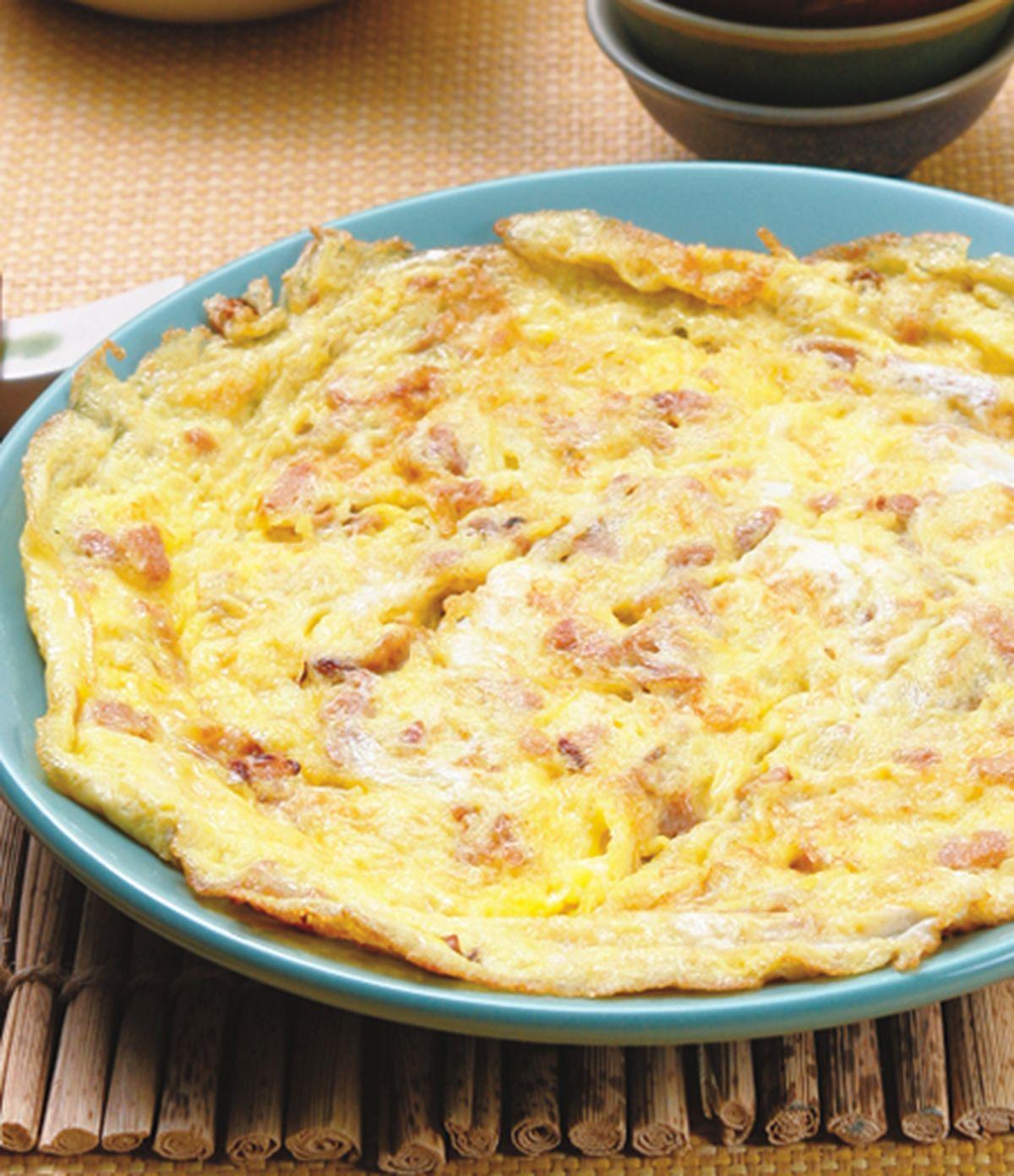 食譜:菜脯蛋(4)
