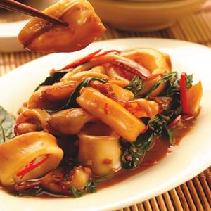 泰式辣味炒中卷