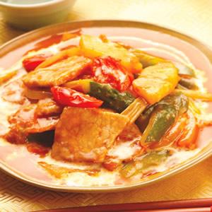 泰式糖醋炒肉片