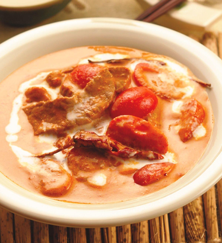 食譜:蕃茄牛肉紅咖哩
