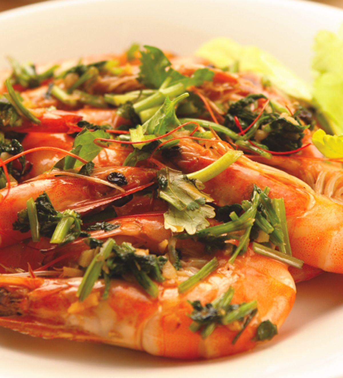 食譜:椰奶香蒜炒蝦