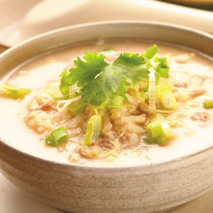泰式鮮蝦粥