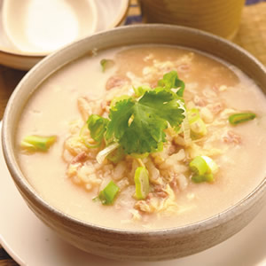 泰式椰香牛肉粥