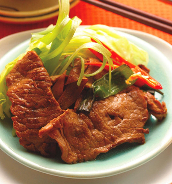 食譜:烤牛肉片沙拉
