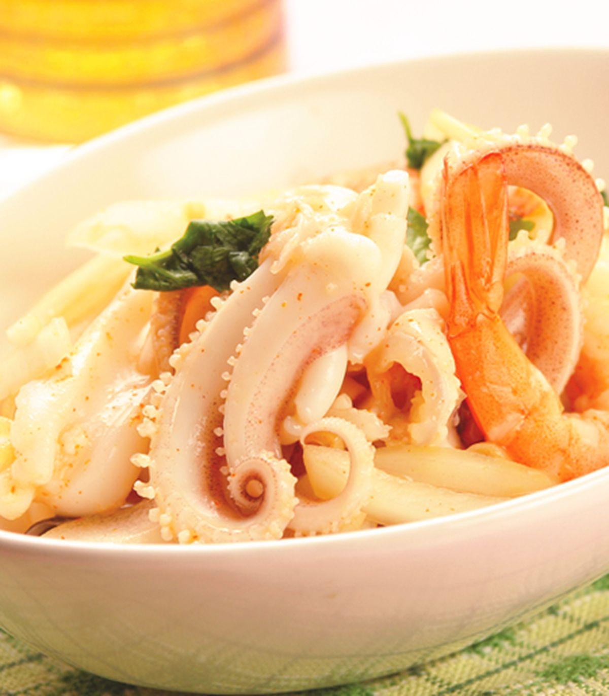 食譜:海鮮沙拉(1)