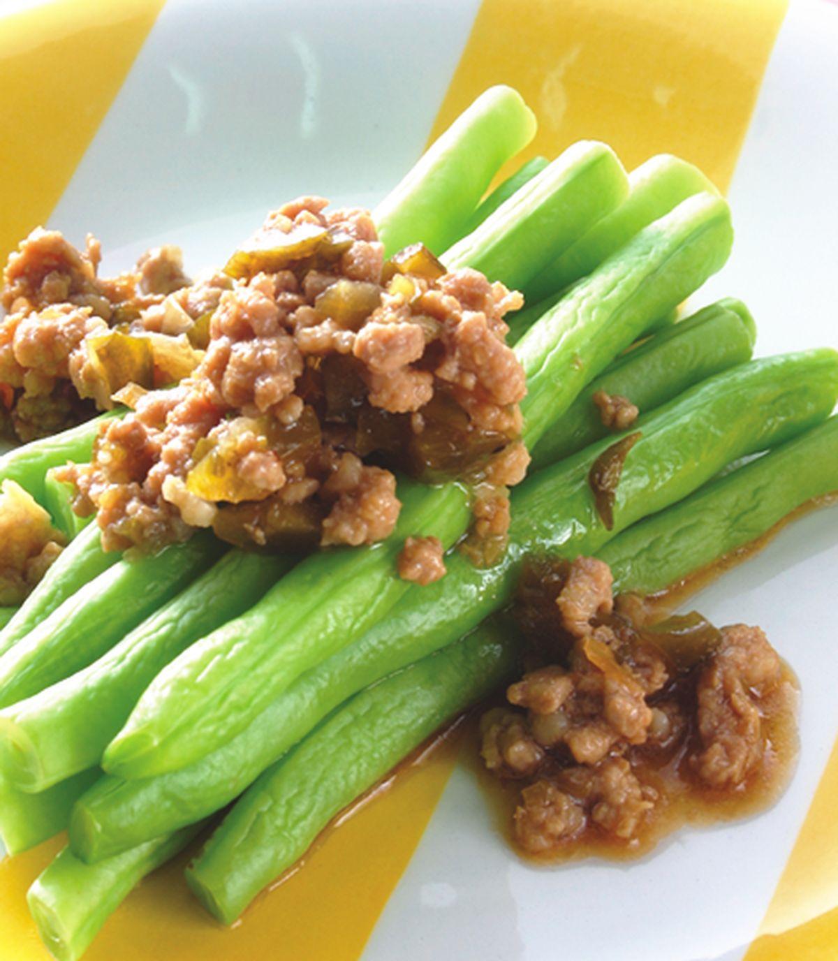 食譜:瓜仔肉燥四季豆