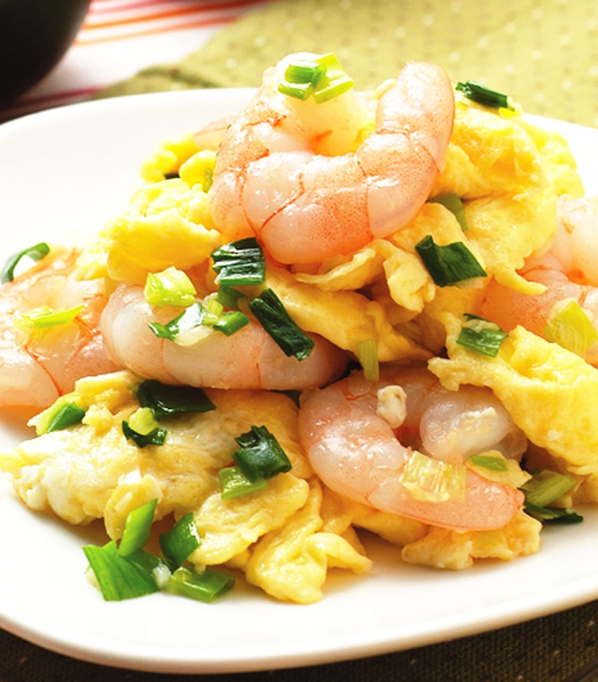 食譜:蝦仁炒蛋(2)