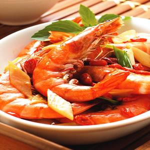 醬爆麻油蝦