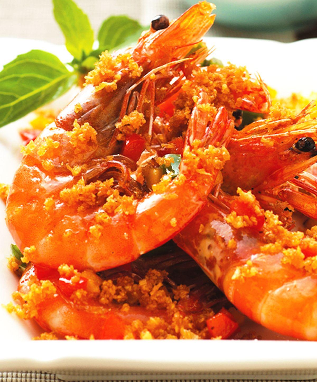 食譜:金蒜蝦