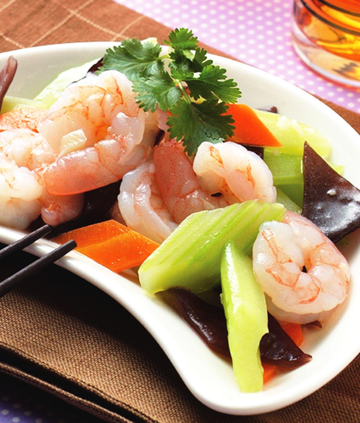 食譜:西芹炒蝦仁