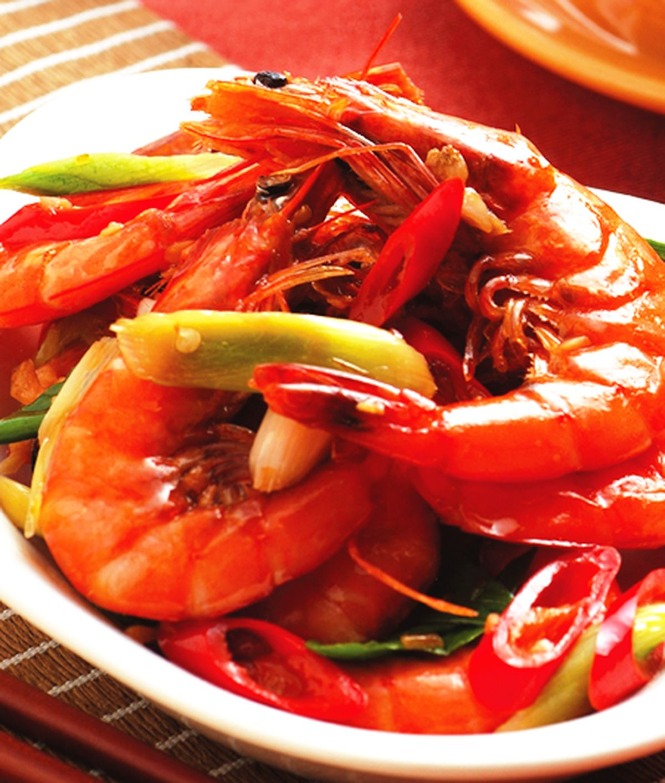 食譜:蠔油鮮蝦