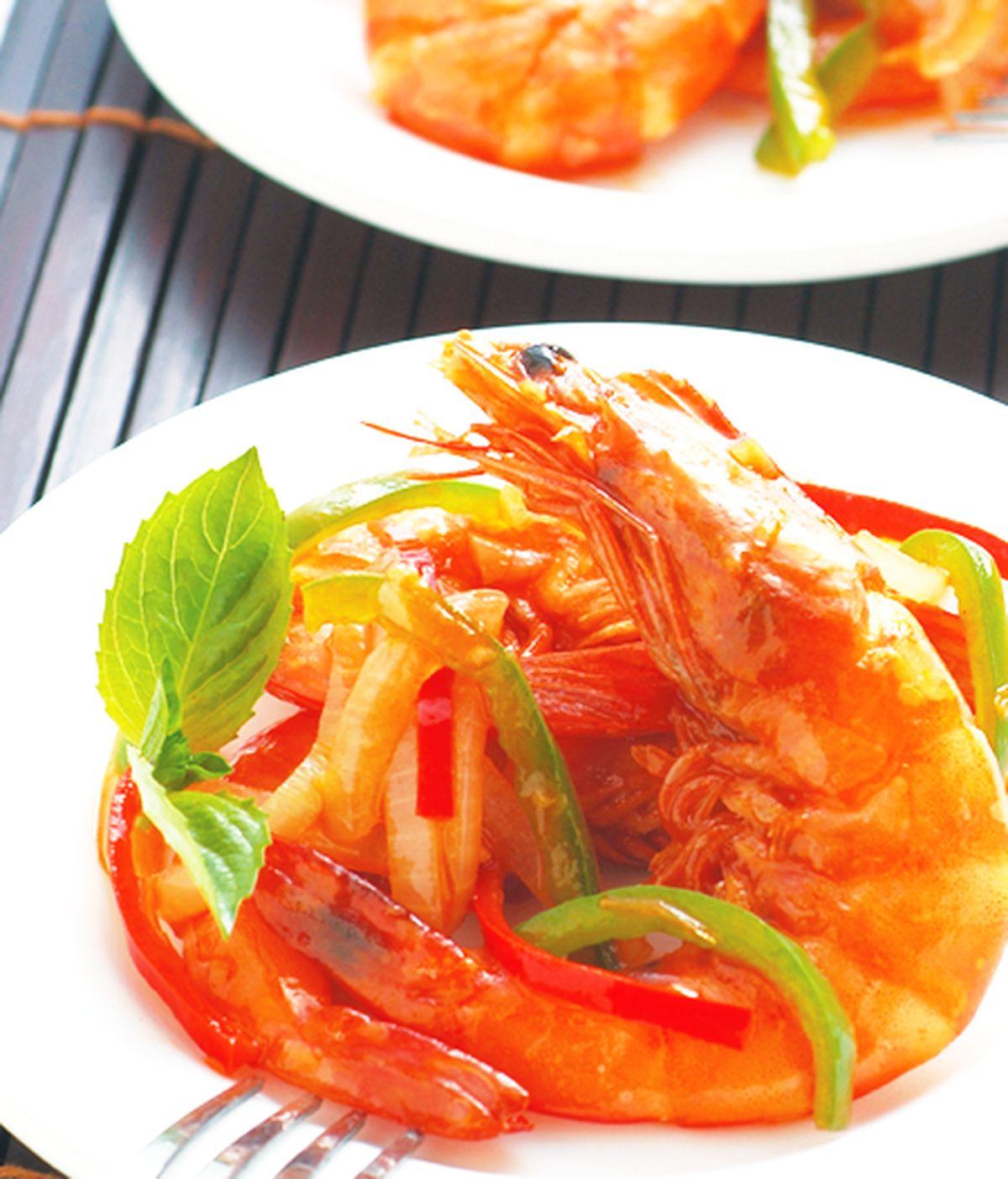 食譜:洋蔥炒蝦