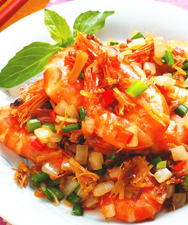 食譜:XO醬炒蝦