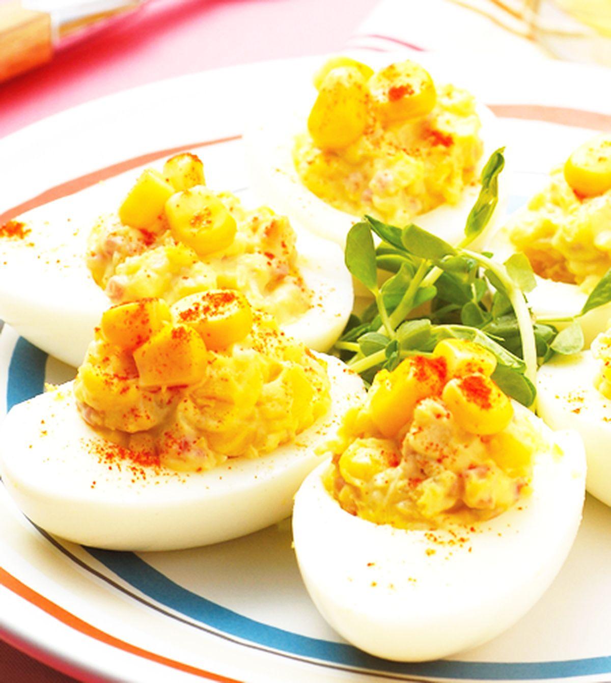 食譜:甜玉米蛋沙拉
