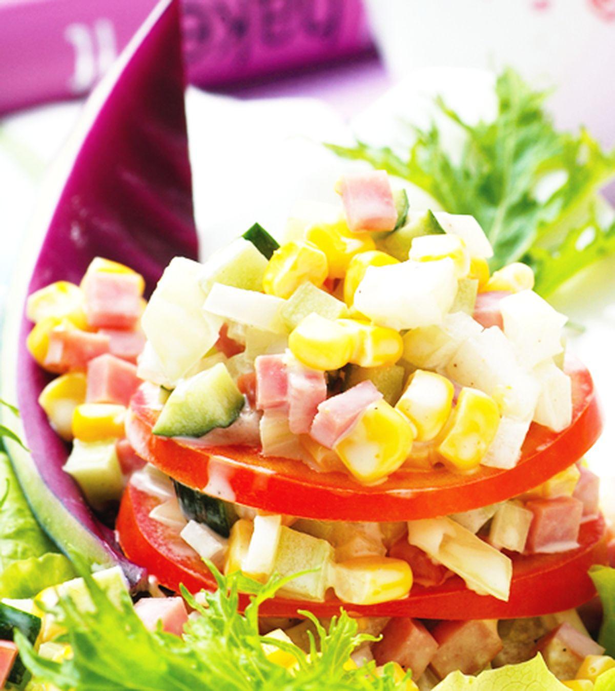 食譜:火腿甜珍珠沙拉