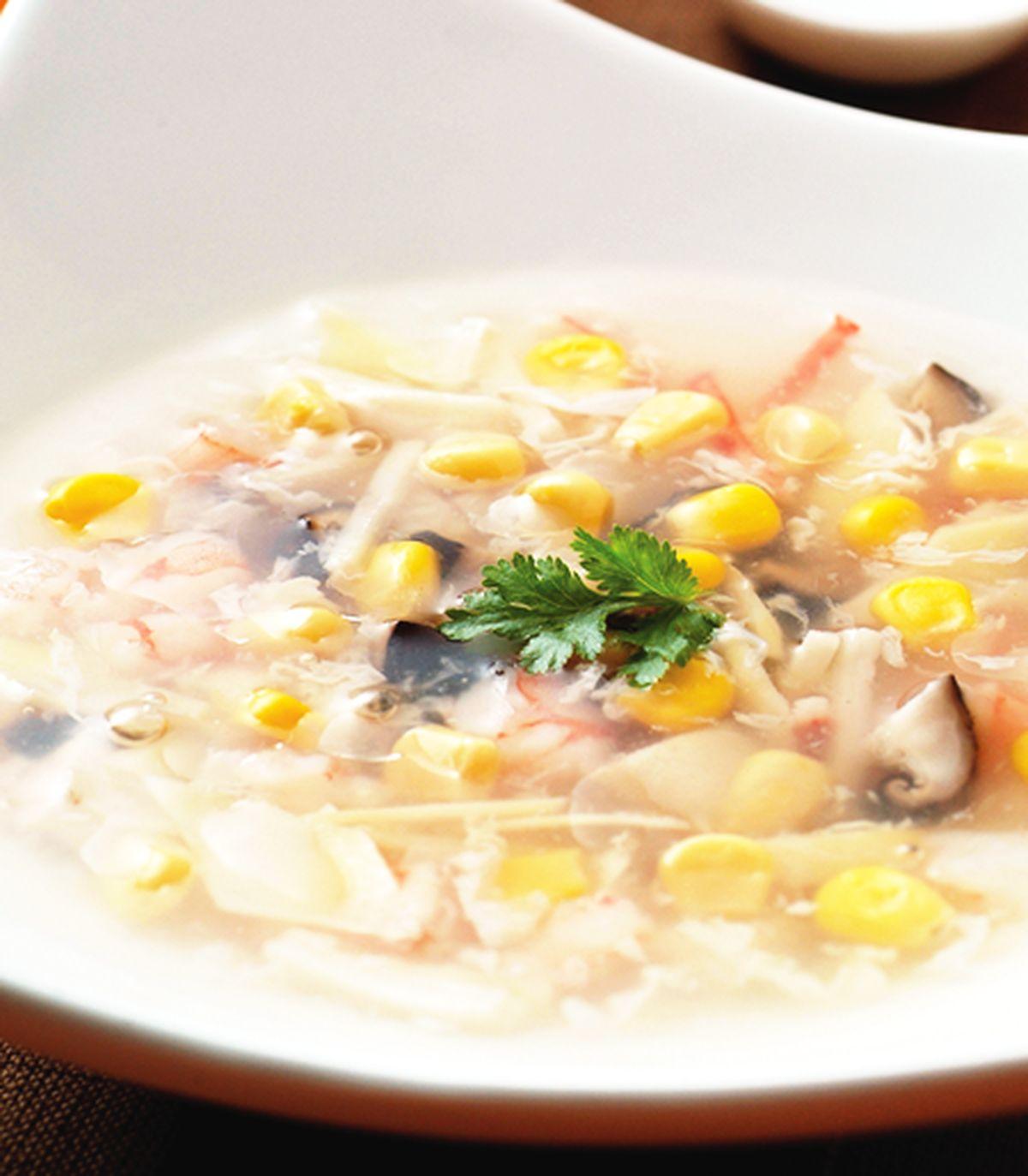 食譜:玉米海鮮羹