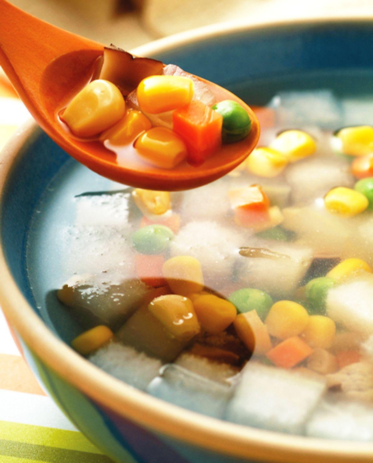 食譜:金玉玉米瓜丁湯
