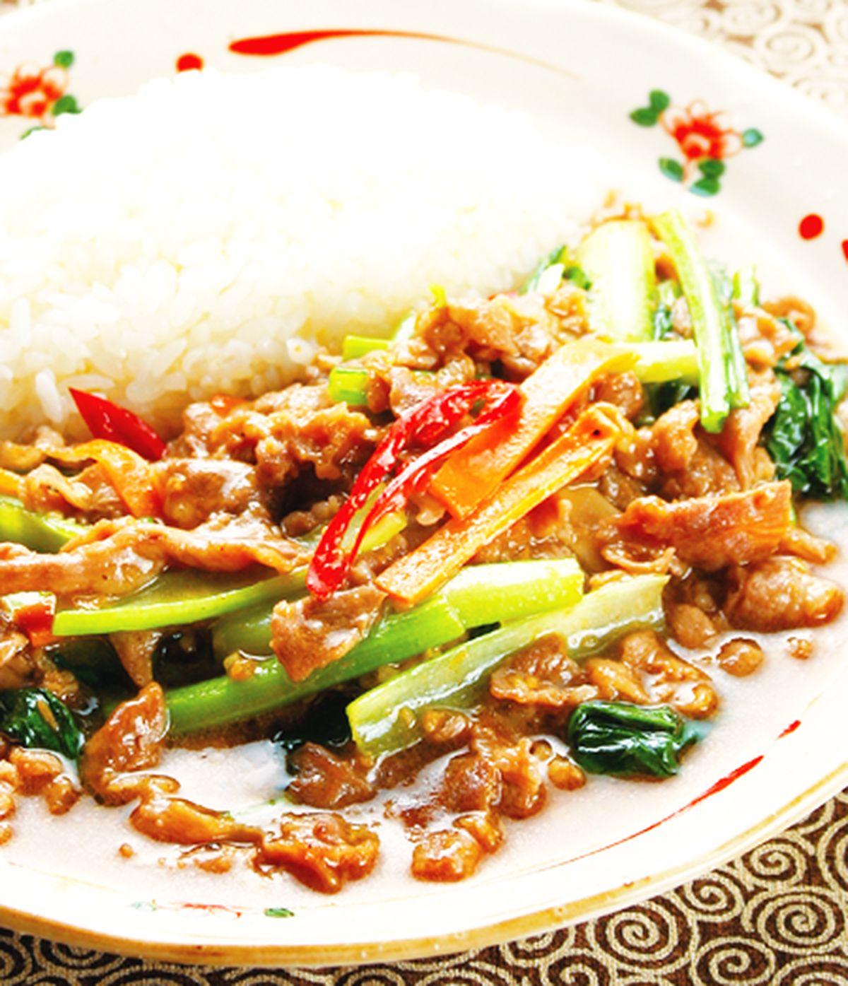 食譜:沙茶羊肉燴飯