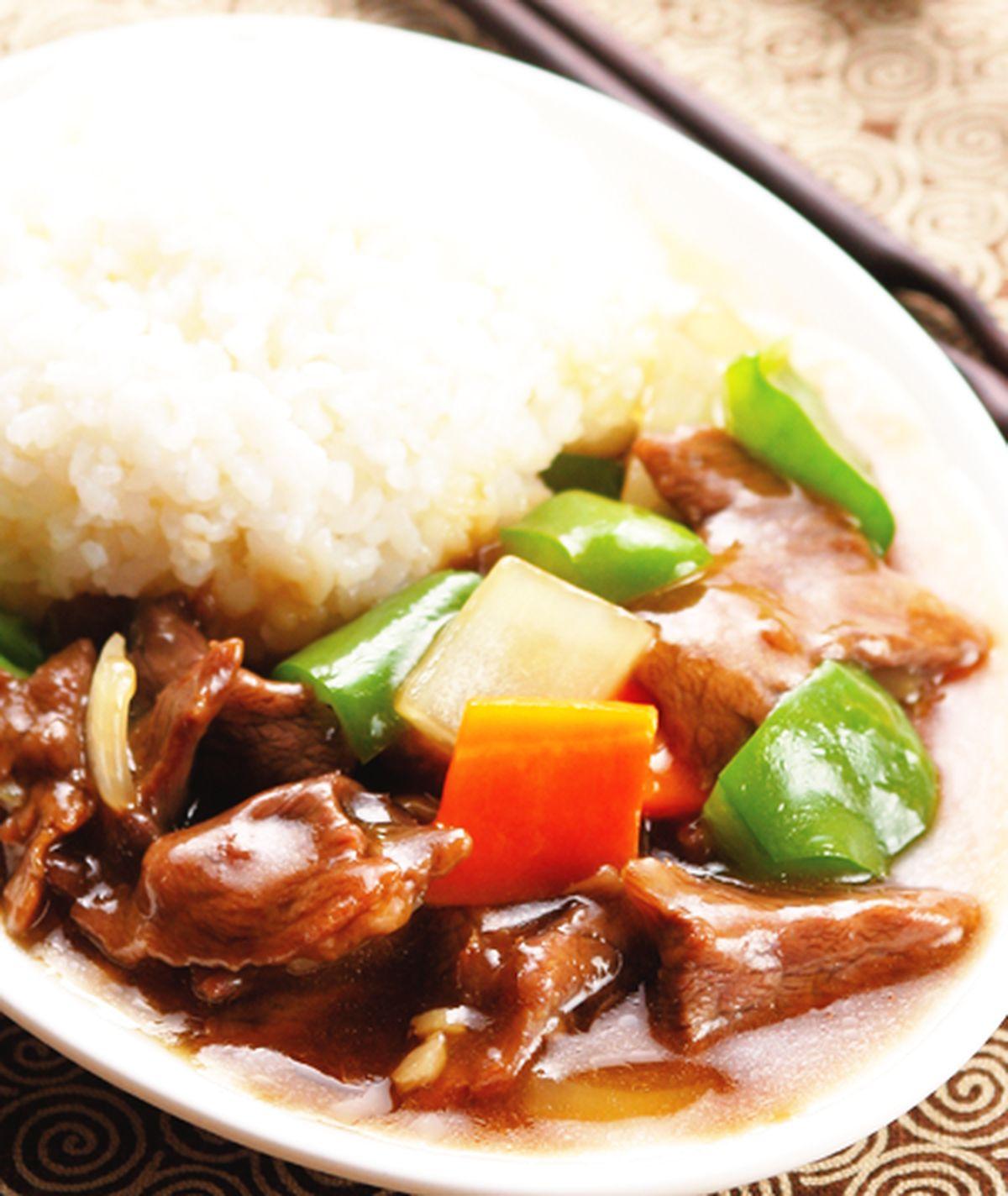 食譜:蠔油牛肉燴飯(1)