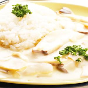 白醬鮮菇燴飯
