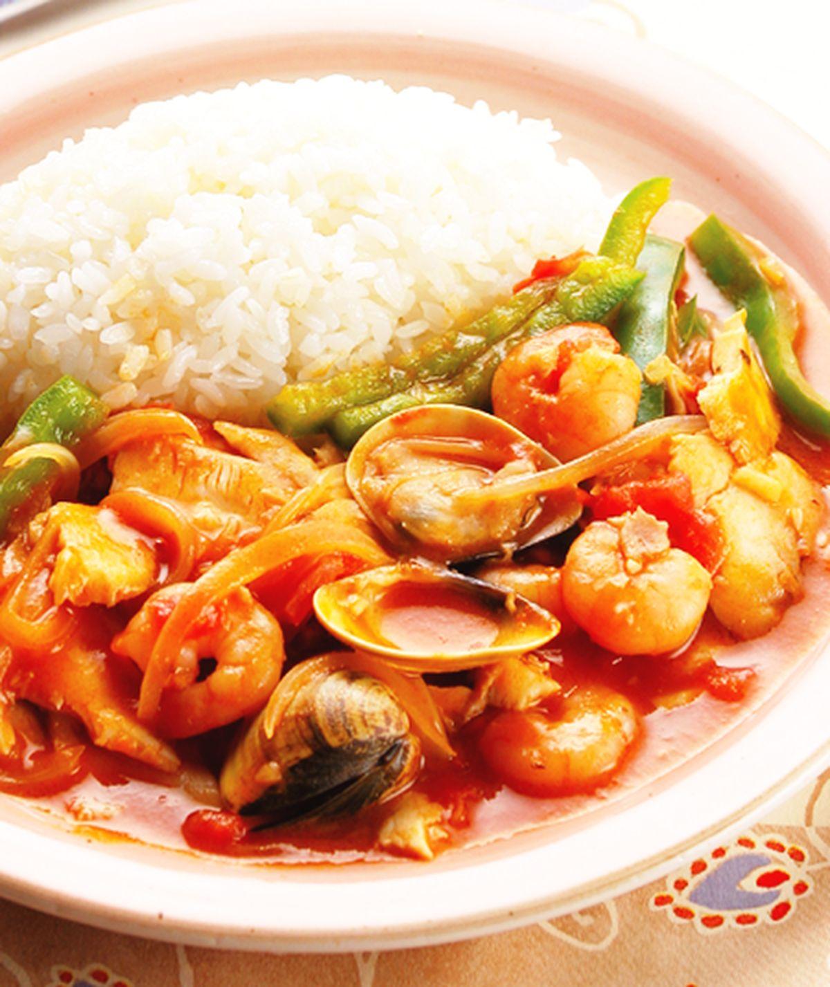 食譜:義大利海鮮燴飯