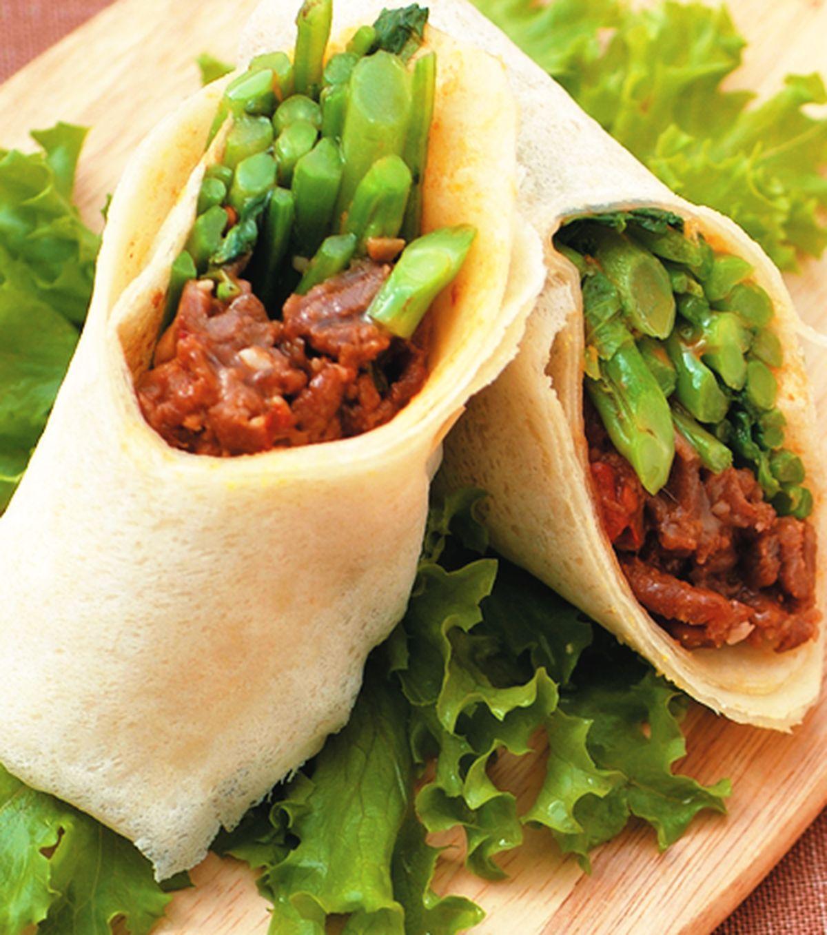 食譜:豆瓣羊肉捲餅